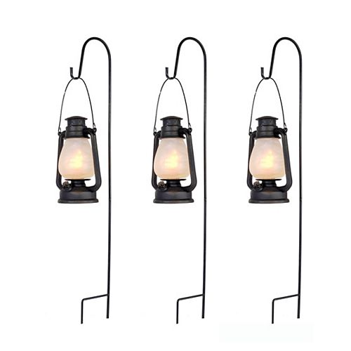 Spooky Lantern Pathway Marker Halloween Decoration (3-Pack)