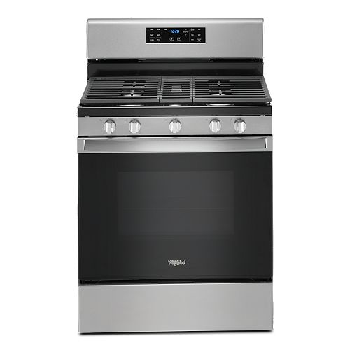 5.0 cu. ft. Gas Range with Self-Cleaning Convection Oven in Fingerprint Resistant Stainless Steel