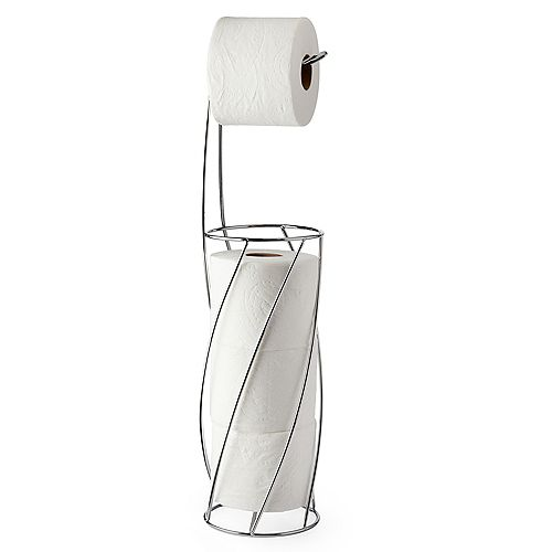 TWIST Toilet Caddy Chrome