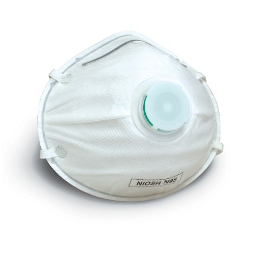 N95 Disposable Particulate Respirator With Valve