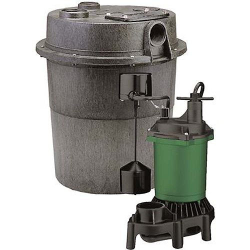 1/3 HP Sink Pump System Includes Pump And 6 Gallon Tank