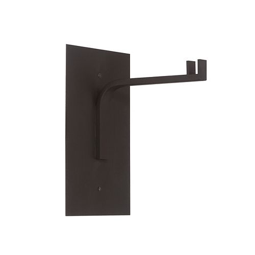 Eurofase Cathedral 10-inch Black Wall Table Lamp Mount