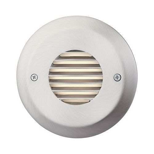 4 3/4-inch 2.5W Brushed Nickel LED Steps and Stair Deck Light