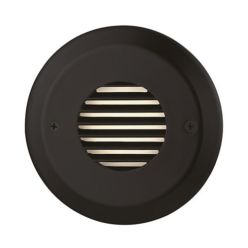 4 3/4-inch 2.5W Black LED Steps and Stair Deck Light