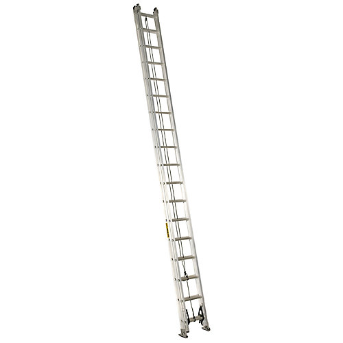 Featherlite Aluminum extension ladder 36 Feet Grade IA