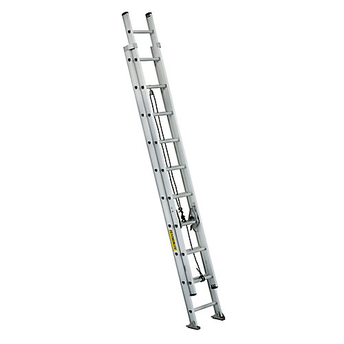Featherlite Aluminum extension ladder 20 Feet Grade IA