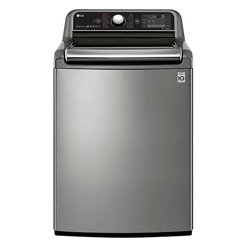 6.0 cu.ft. Top Load Washer with Ultra Capacity in Stainless Steel - ENERGY STAR®