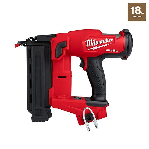 M18 FUEL 18V Lithium-Ion Brushless Cordless Gen II 18-Gauge Brad Nailer (Tool Only)