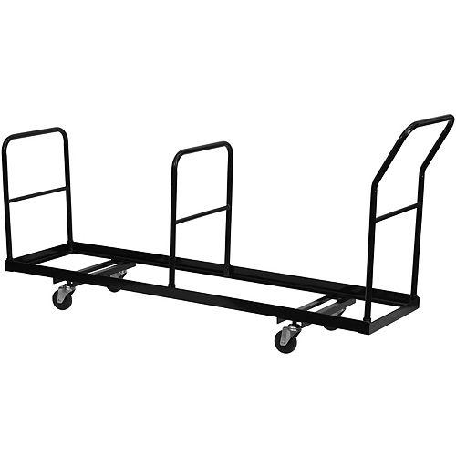 Chariot de chaises pliantes de rangement vertical - Capacité de 35 chaises
