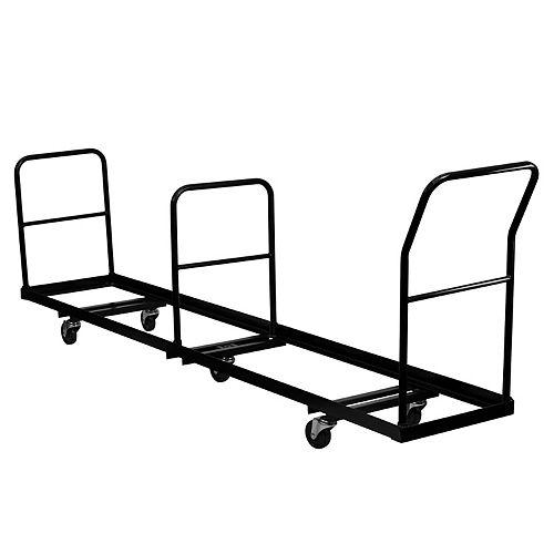 Chariot de chaises pliantes de rangement vertical - Capacité de 50 chaises