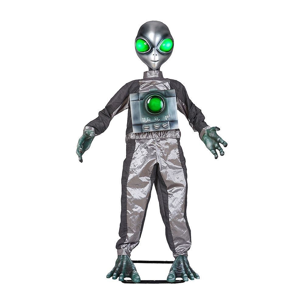 Home Accents Holiday 6 ft. Animated LED Alien Halloween Decoration