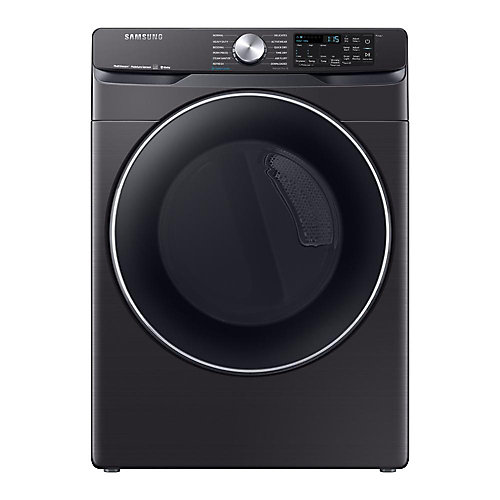 7.5 cu.ft. Electric Dryer with Vent Sensor and Wi-Fi in Black Stainless Steel - ENERGY STAR®