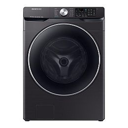 5.2 cu. ft. High-Efficiency Front Load Washer with Steam in Black Stainless Steel