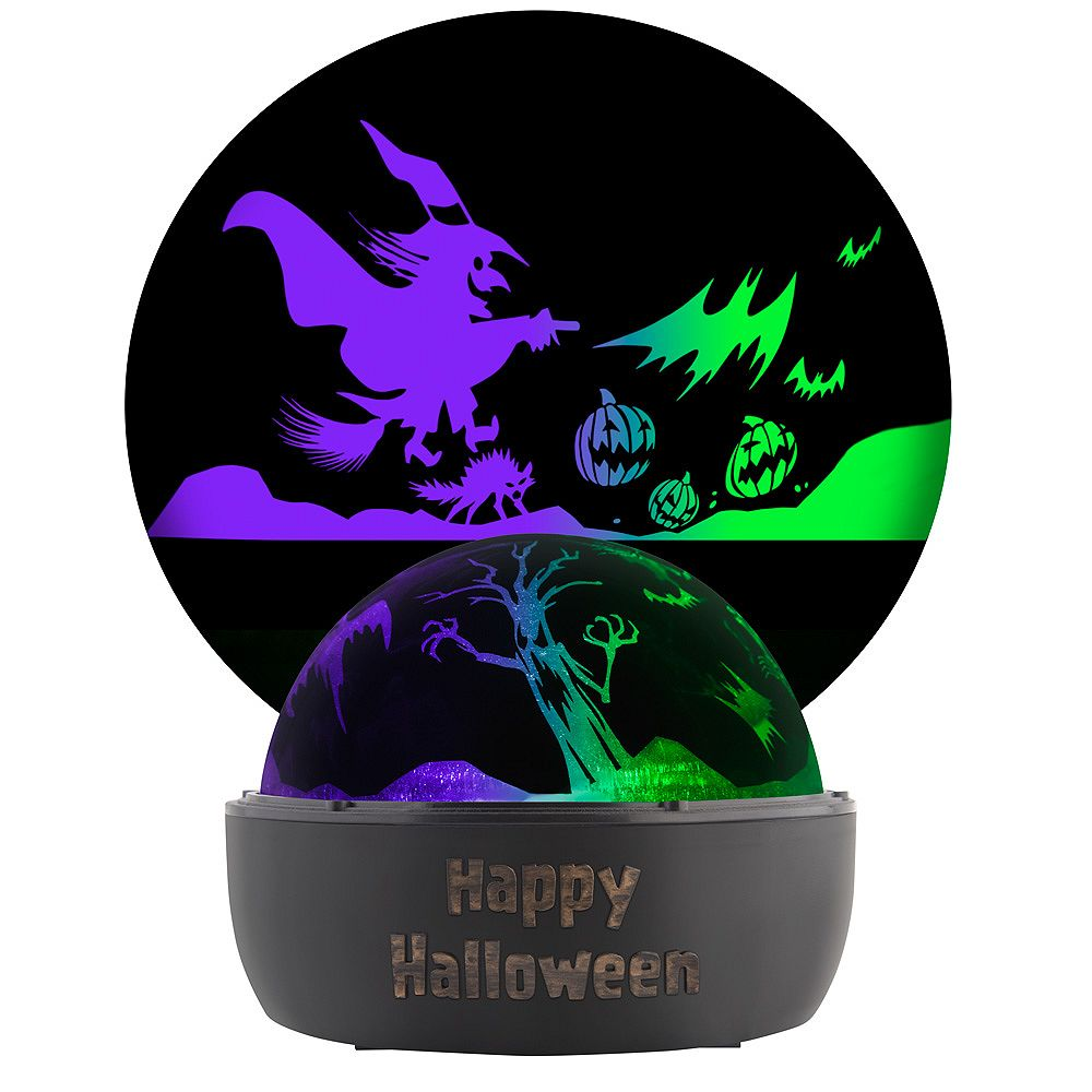 LightShow ShadowLights Colour Changing Tabletop Halloween Lightshow Projection