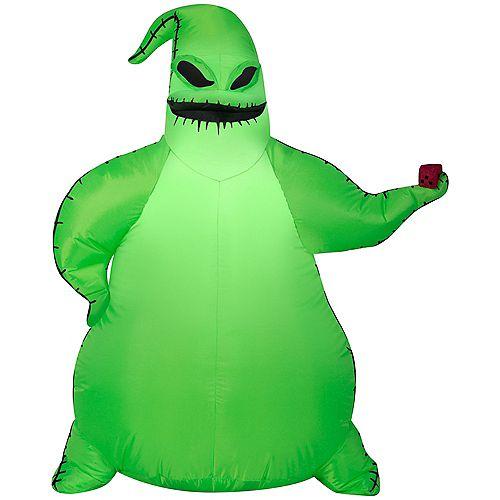 3.5 ft Disney Green Oogie Boogie