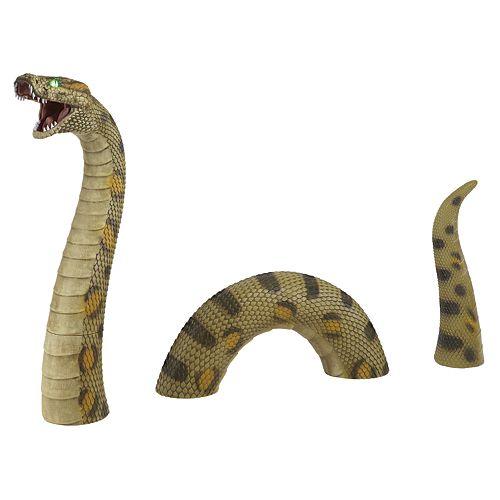 3 ft. LED Anaconda Halloween Decoration