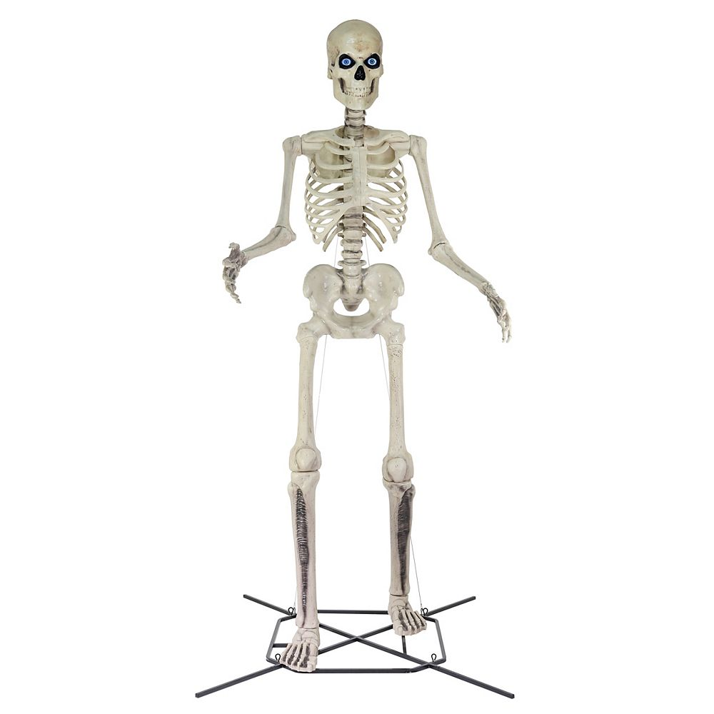 Home Accents Holiday 12 ft. Giant-Sized Skeleton Halloween Decoration with LifeEyes LCD Eyes