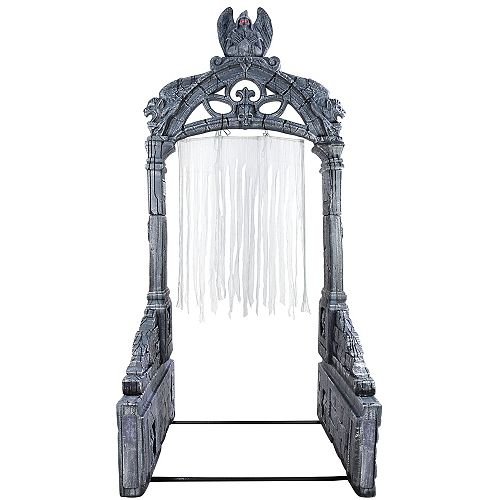 8.5 ft. LED Giant-Sized Mausoleum Archway with Timer