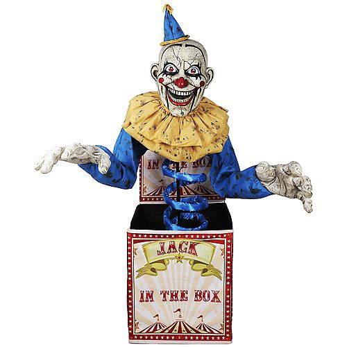 6 ft. Animated LED Jack-in-the-Box