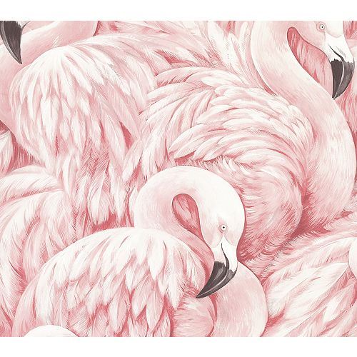 Papier peint Horace Flamants roses