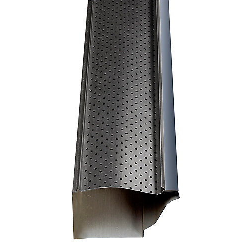 Carbon Black - Gutter Guard (30ft)