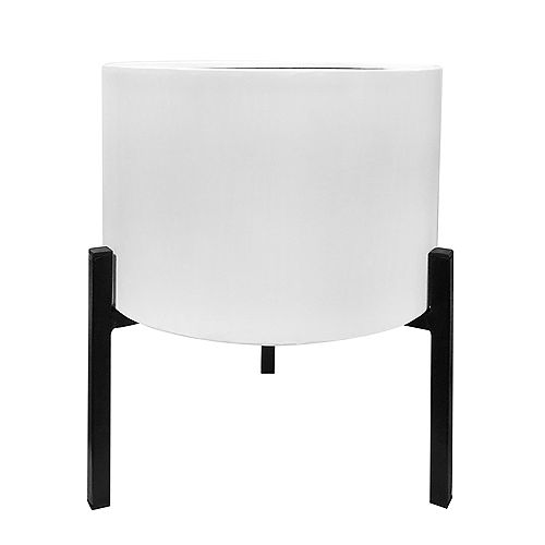 Blooms Planter Stand White