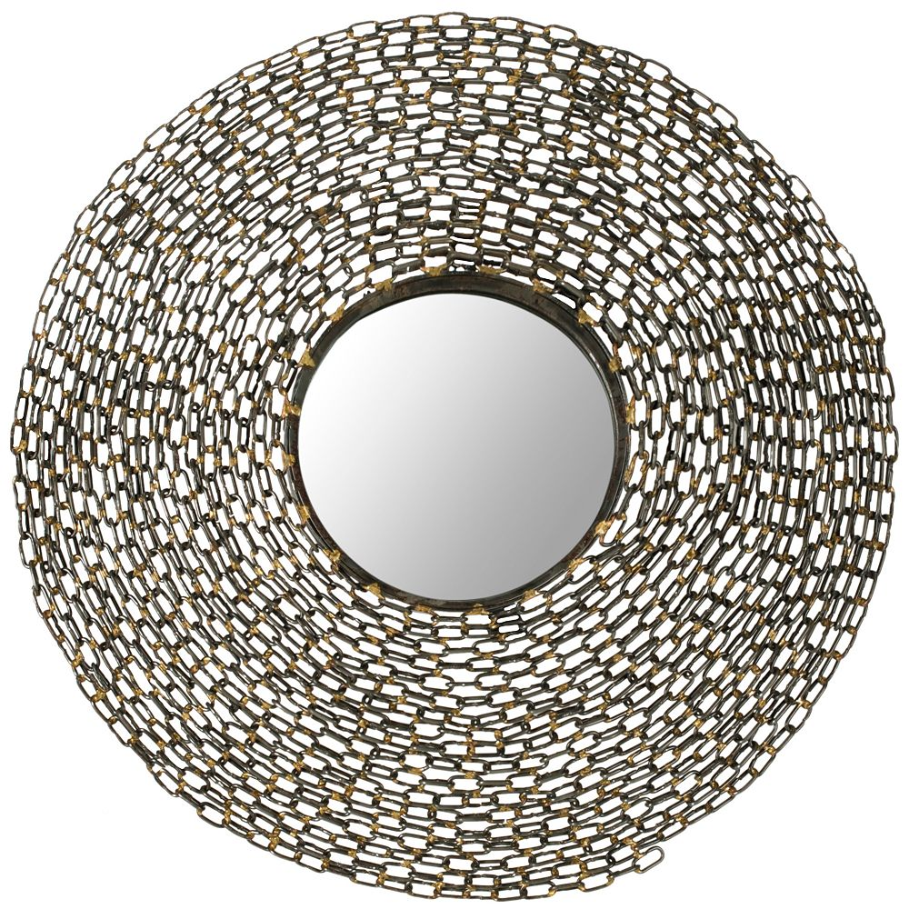 Safavieh Miroir de Jeweled Chain en Fer