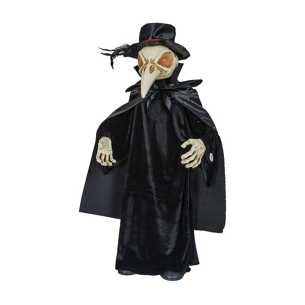 Home Accents Holiday 3 ft. Animated LED Victorian Reaper