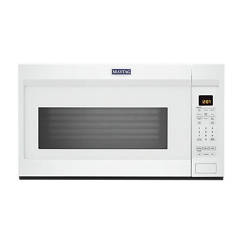 1.9 cu. ft. Over the Range Microwave in White