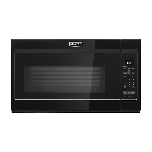 1.9 cu. ft. Over the Range Microwave in Black