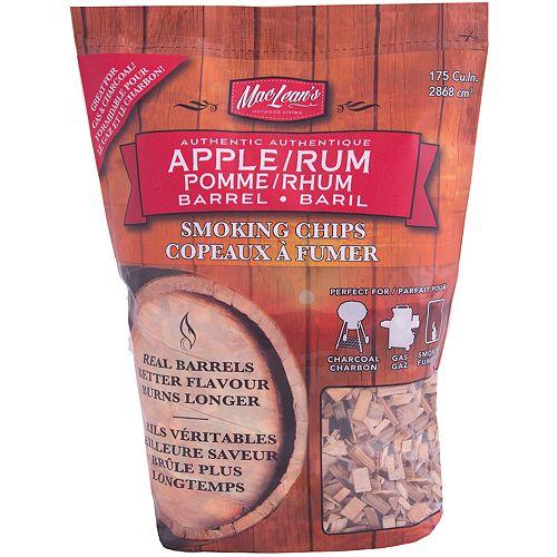 Home Depot Bucket Apple/Rum Smoking Chips