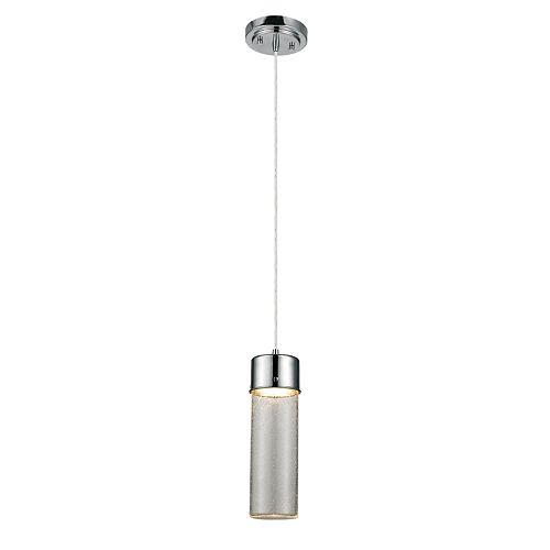 Lustre à 4 ampoules avec cadre étage, collection Utila, fini noir