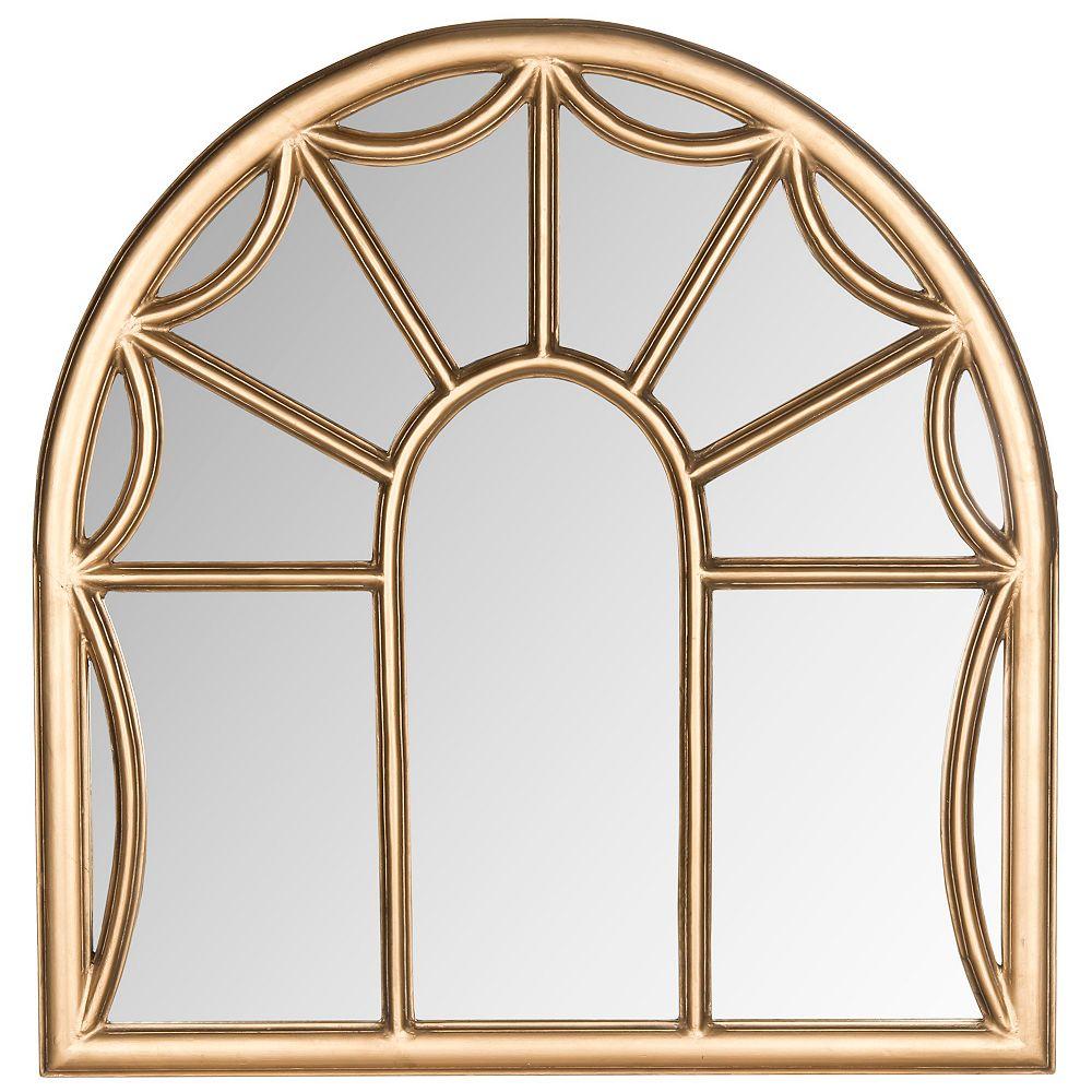 Safavieh Miroir de Palladian en Or