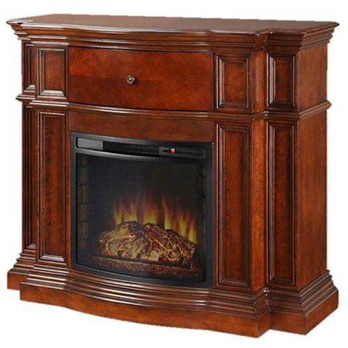 """Grayson 48"""" Media Fireplace - Mahogany"""