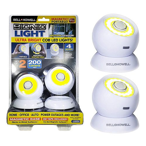 Bionic Lights Ultra Bright COB LED Lights (2 Pack)