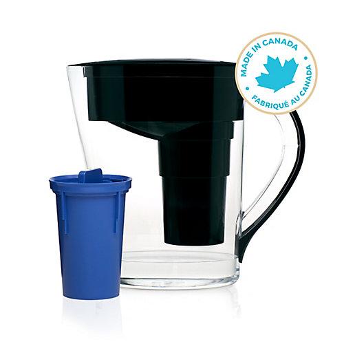 Alkaline Water Pitcher   MINA Model   Black