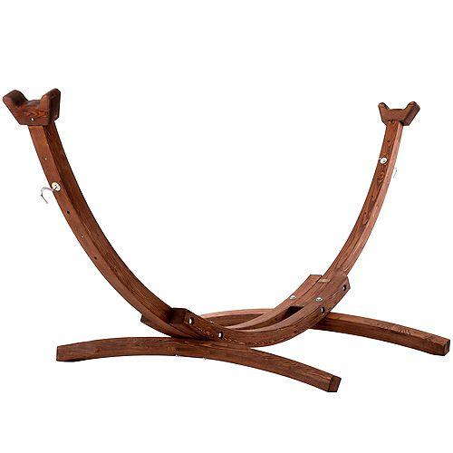Support d'arc en pin massif de 10 pieds
