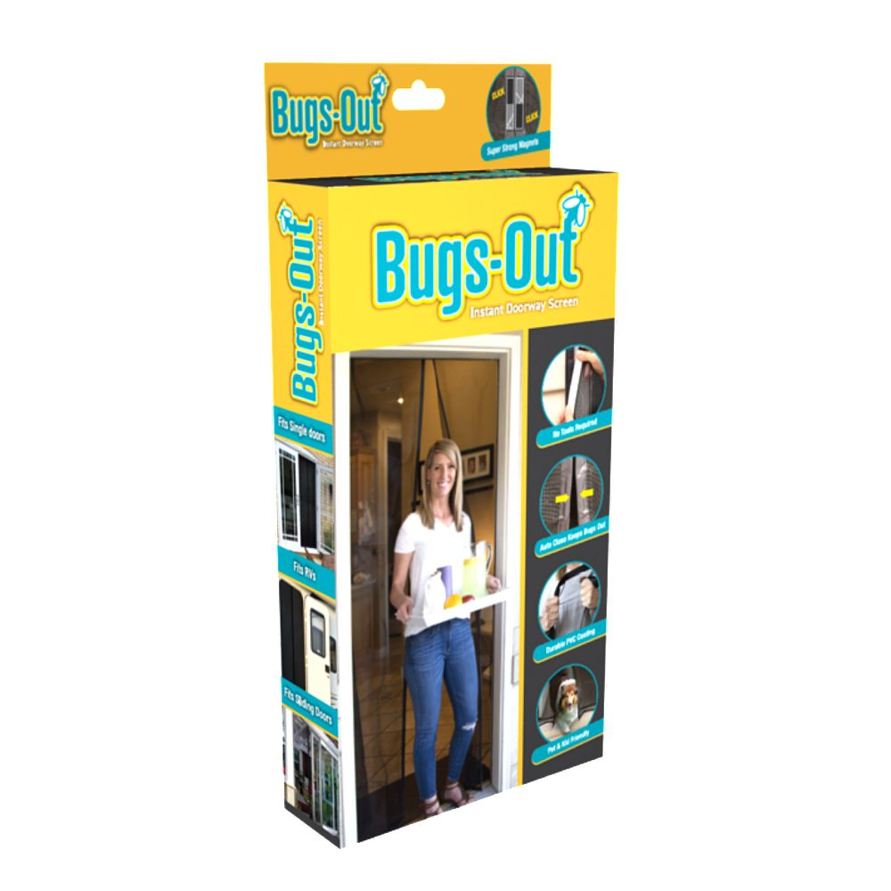Screenmend BugsOut Instant Magnetic Doorway