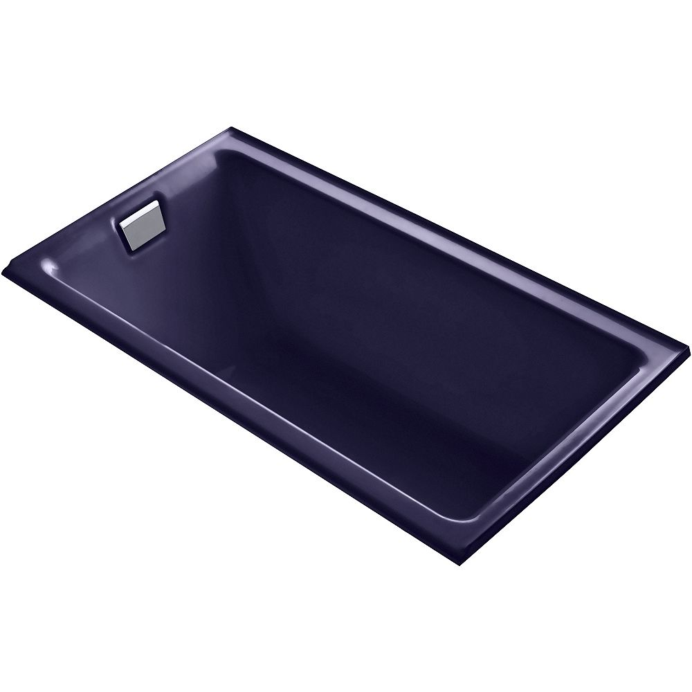 KOHLER Tea-For-Two 66-inch X 36-inch Alcove Bath with Integral Flange and Left-Hand Drain