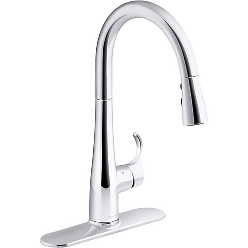 Simplice Touchless Pull-Down Kitchen Sink Faucet in Polished Chrome