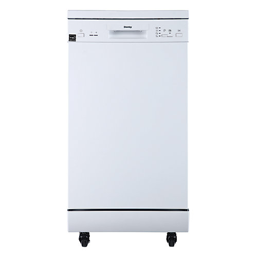 18 inch Portable Dishwasher - White