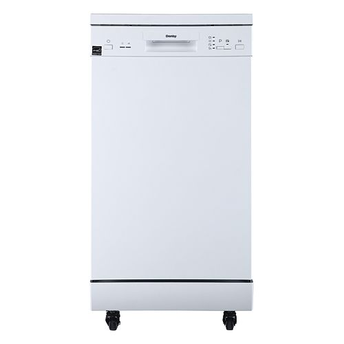 18 inch Portable Dishwasher - White