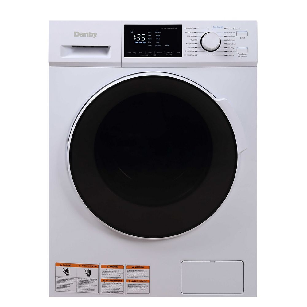 Danby 2.7 cu. ft. All-In-One Ventless Washer/Dryer Combo