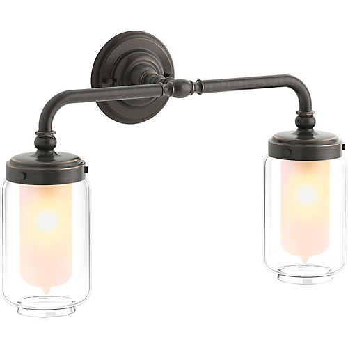 Artifacts Double Wall Sconce