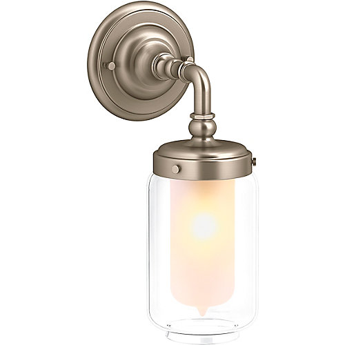 Artifacts Single Wall Sconce in Vibrant Brushed Bronze
