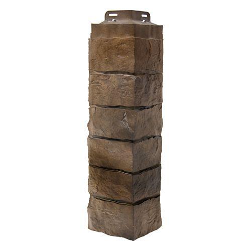 Stone Artisan Cut Saddle Corner