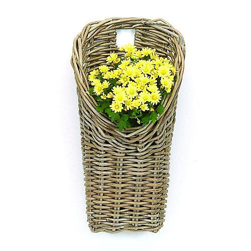 Rattan Wall Basket