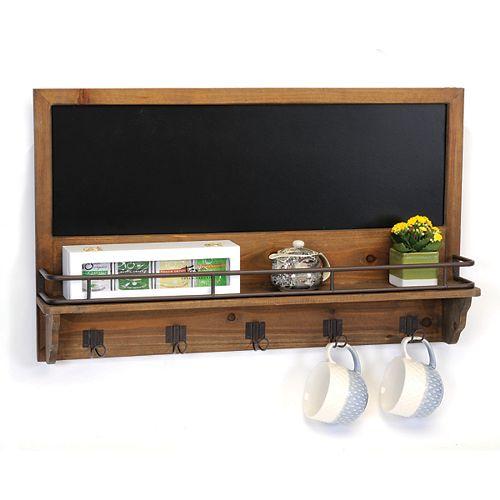 Kitchen Hooks Chalkboard