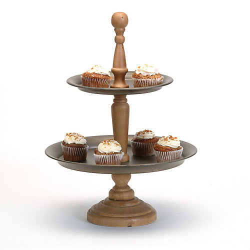 2-Tiered Catering Stand