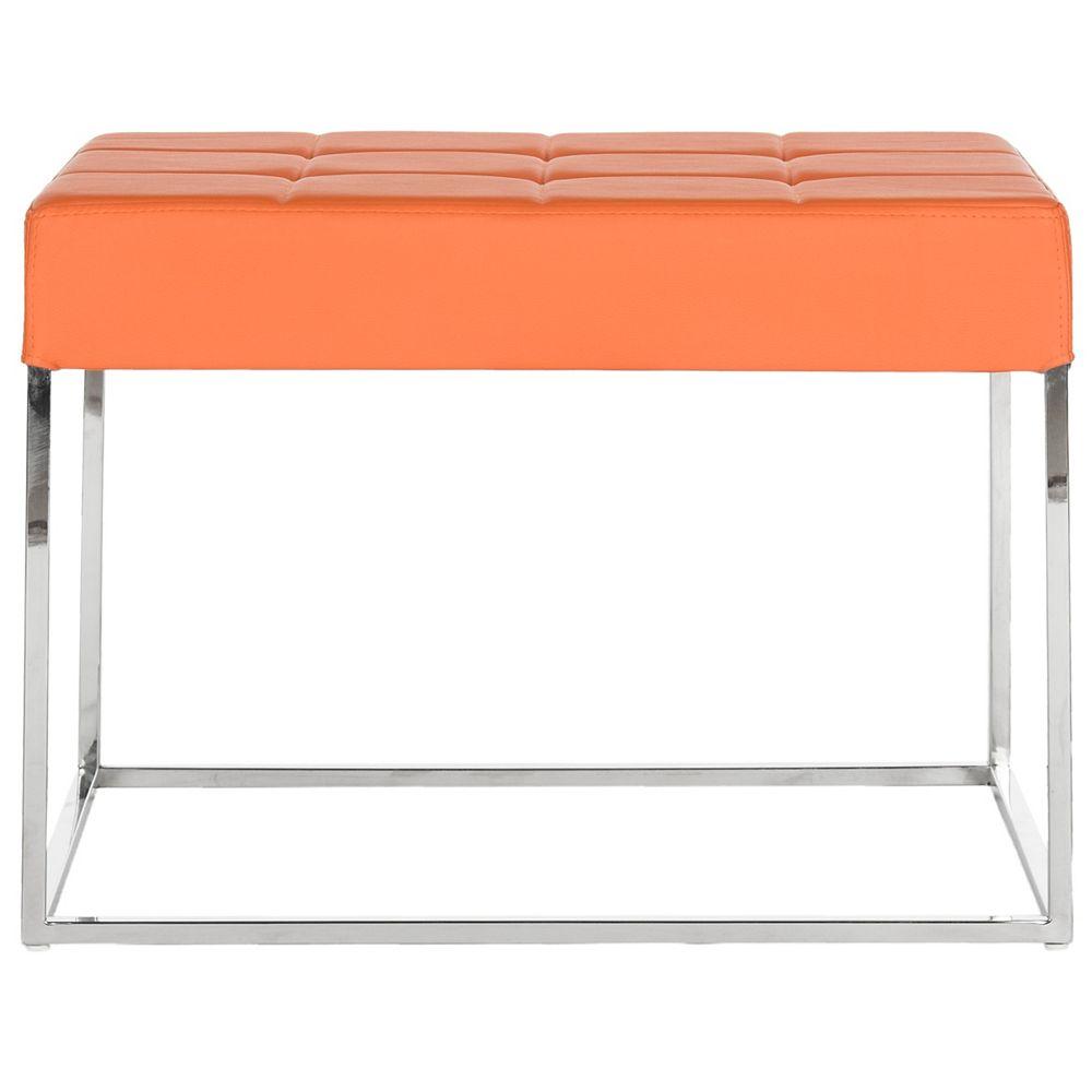 Safavieh Roitfeld ottoman en orange